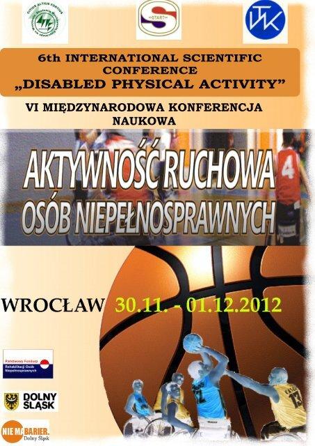 Program (ang) - Akademia Wychowania Fizycznego we Wrocławiu