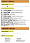 Program (ang) - Akademia Wychowania Fizycznego we Wrocławiu - Page 3