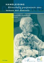 Handleiding Kleinschalig Groepswonen - Wonen met dementie