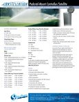 Plastic Pedestal-Mount Controller/Satellite - Signature Control ... - Page 2
