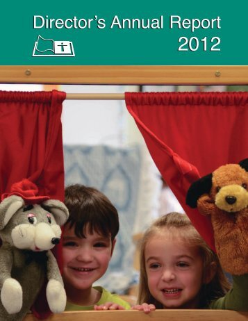 2012 Annual Report - Thunder Bay Catholic District School Board