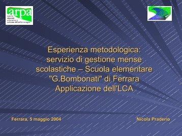 Nicola Praderio - Provincia di Ferrara
