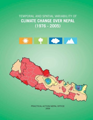CLIMATE CHANGE OVER NEPAL (1976 - 2005) - Practical Action