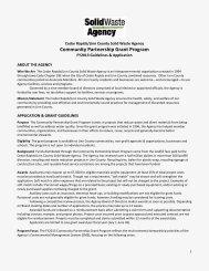 Community Partnership Grant Application - Cedar Rapids Linn ...