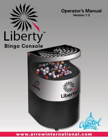 Liberty™ - Bingo Console - Arrow International