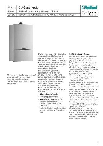 Vaillant VU VUW Premium technická dokumentace.pdf