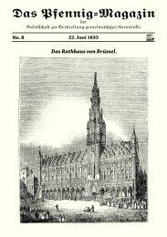 Das Pfennig-Magazin – No. 8 (Ausgabe vom 22. Juni 1833) - Igelity