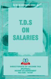 TDS where the salary - Income Tax Department