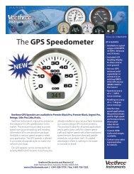 The GPS Speedometer - Veethree Instruments