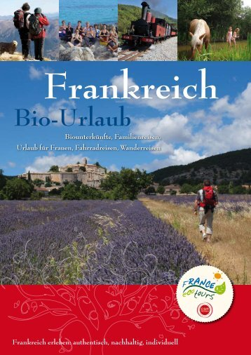 Katalog als PDF - France écotours