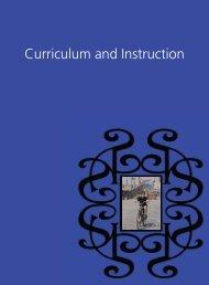 Curriculum and Instruction - SAS-WASC
