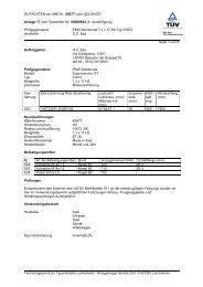 GUTACHTEN zur ABE Nr. 45677 nach §22 StVZO Anlage 17 zum ...