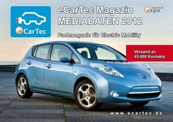 eCarTec Magazin MEDIADATEN 2012 - Materialica