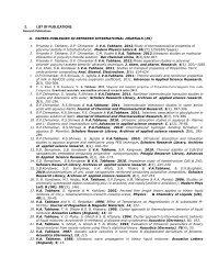 Publication List - Department of Physics