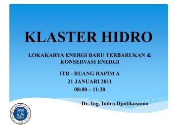 RUANG RAPIM A 21 JANUARI 2011 08:00 – 11:30 Dr.-Ing ... - ITB