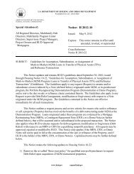 Notice: H 2012-10 - HUD