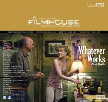 Whatever Works - Filmhouse Cinema Edinburgh
