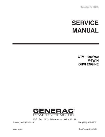 Quietpact 40G Diagnostic Repair Manual Model 4700