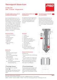 Uni-Baureihe 2026 - Ringanschnitt RX - C-Version - PSG Plastic ...