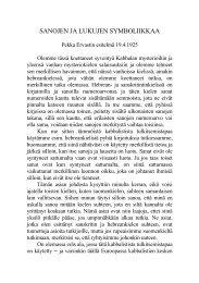 1925 04 19 Sanojen ja lukujen symboliikkaa.pdf - Pekka Ervast