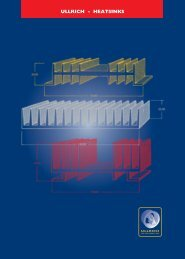 Heatsinks Catalogue - Ullrich Aluminium