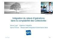 Intégration du relevé d'opérations dans la comptabilité des ... - apeca
