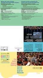 Concerts pour les jeunes TD Canada Trust - National Arts Centre