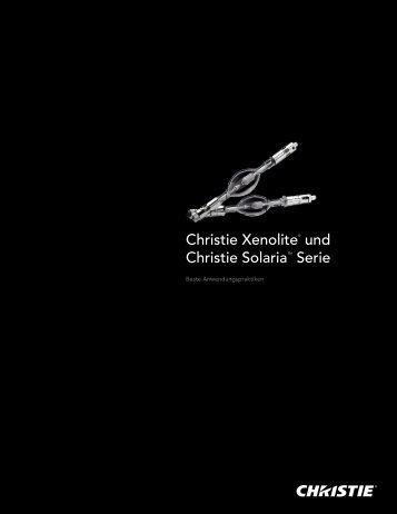 Christie Xenolite® und Christie Solaria™ Serie