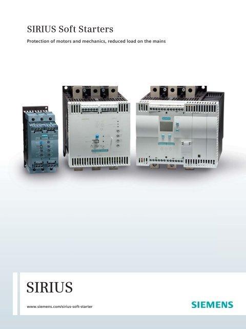 SIRIUS Soft Starters - Siemens