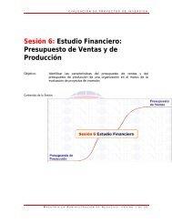 Lección 6.1 Presupuesto de ventas.