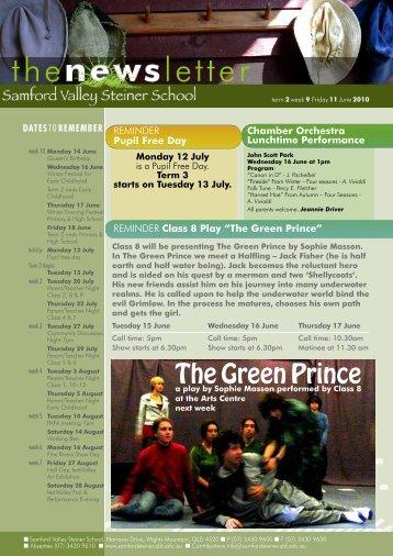 Newsletter Term 2 Week 9 - Samford Valley Steiner School