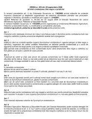 Ordin MAPDR nr. 653/2006 - MADR