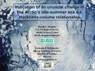 Presentation - Alaska Science Center - USGS