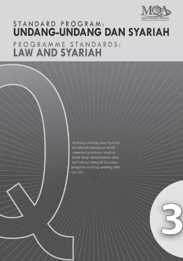 MQA-Law & Syariah Prog Standards - DrJJ