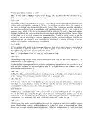 What is your basic statement of faith? PDF - Gospel Lessons