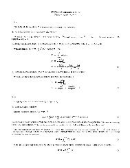 PY241 Solutions Set 6 (Dated: October 21, 2002) 6-9 The force on ...