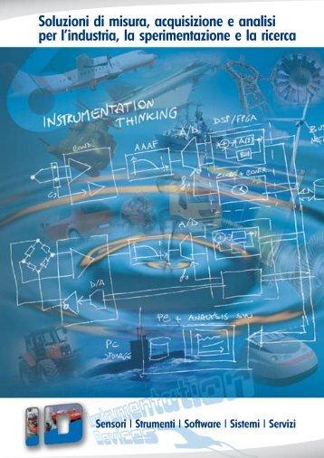Soluzioni di misura, acquisizione e analisi per l'industria, la ...