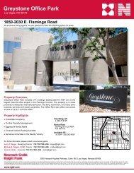 1850-2030 E. Flamingo Road Greystone Office Park - Property Line