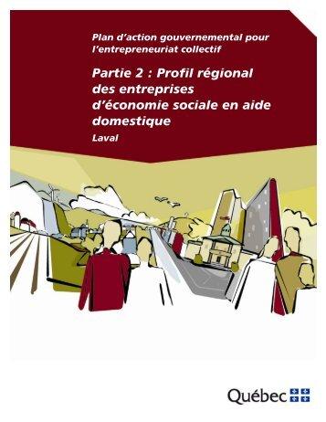 Laval - Affaires municipales, régions et occupation du territoire