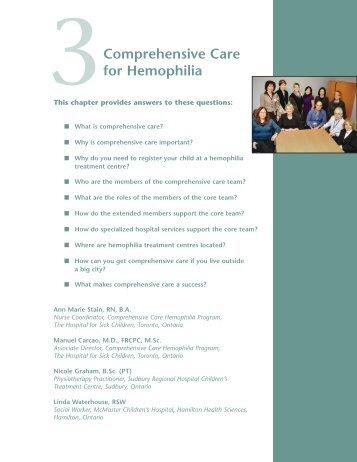 Comprehensive Care Hemophilia
