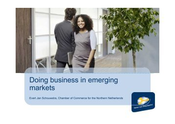 O.6 Doing Business in Emerging Markets - Eurochambres Academy