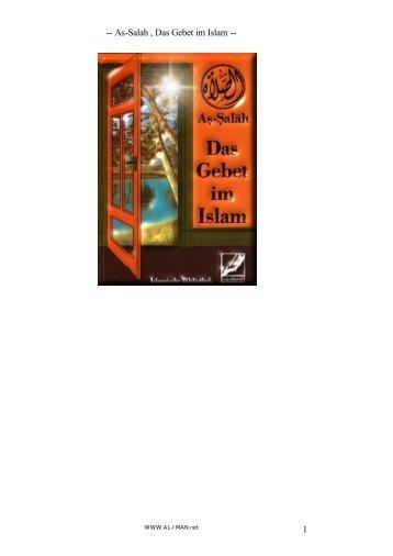Salah , Das Gebet im Islam - Way to Allah