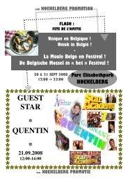 GUEST STAR * QUENTIN * - Koekelberg