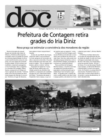 Diário Oficial Nº 2394 - Prefeitura de Contagem