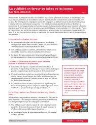 Télécharger tous les documents - Campaign for Tobacco-Free Kids