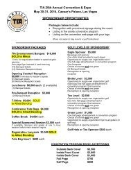download 2014 sponsorship opportunties - Tortilla Industry ...