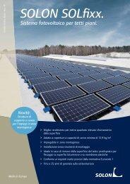 SOLON SOLfixx. - Infobuild energia