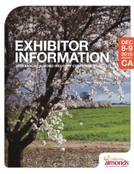 Exhibitor Information.pdf - Almond Board of California