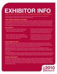 Exhibitor Information.pdf - Almond Board of California - Page 2