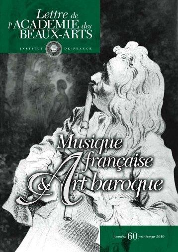 Lire la Lettre - Académie des Beaux-Arts de l'Institut de France